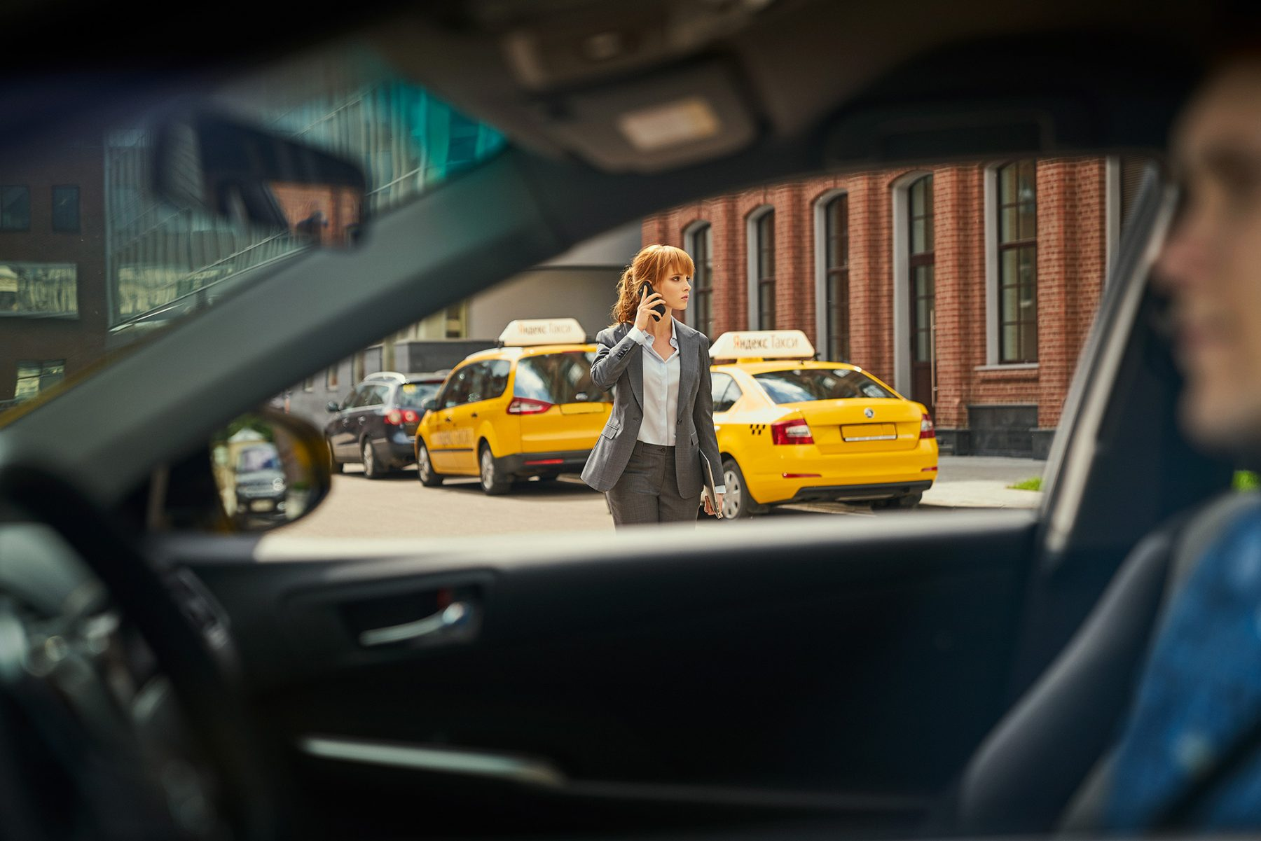 Paragon Retouch Yandex Taxi